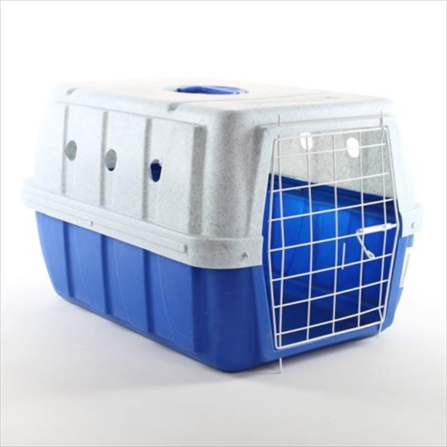 caixa de transporte clicknew - azul com mármore caixa de transporte clicknew azul com mármore - n. 02