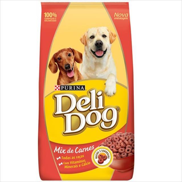 ra��o nestl� purina deli dog adultos mix de carnes - 900gr