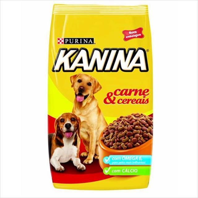 ração nestlé purina kanina carne e cereais - 10,1kg
