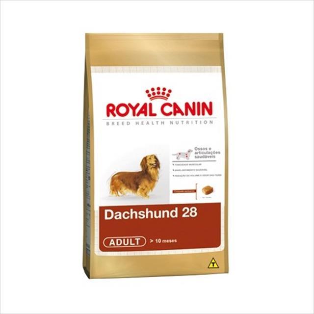 ração royal canin dachshund 28 adulto - 1kg