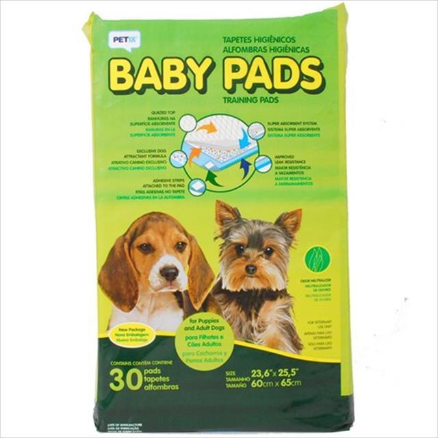 tapete higiênico baby pads - petix tapete higiênico baby pads - 30 unidades