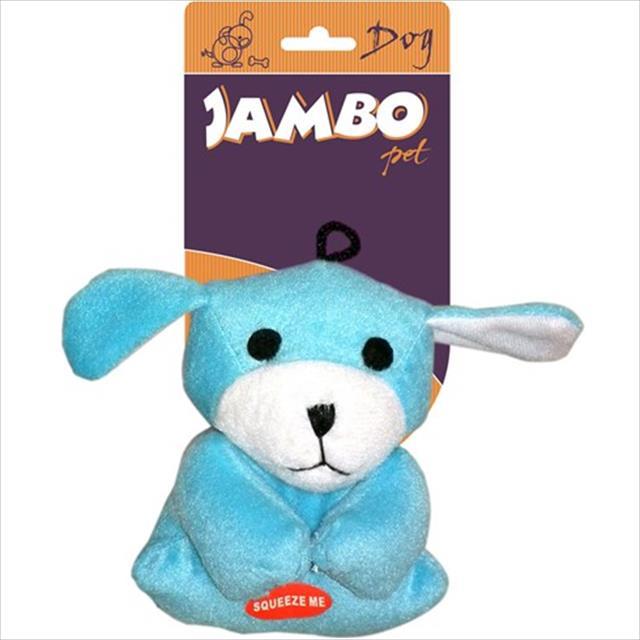 brinquedo cachorrinho mini - azul