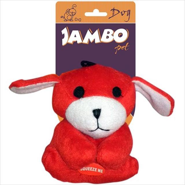 brinquedo cachorrinho mini - vermelho