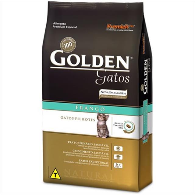 ração golden gatos filhotes frango - 10kg
