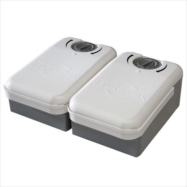 alimentador eletrônico eatwell lite 2 refeições - amicus