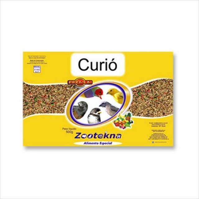 alimento especial zootekna curió - 500gr