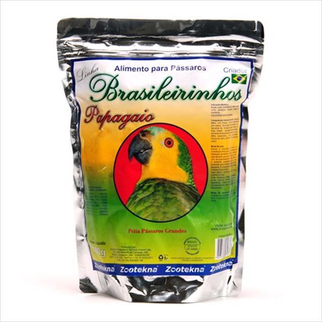 alimento zootekna brasileirinho papagaio - 700gr