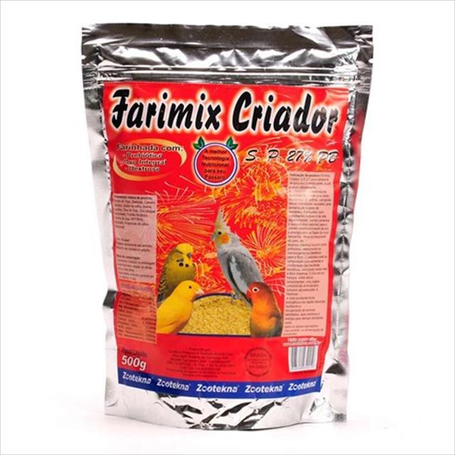 alimento zootekna farimix s.p 27% - 500gr
