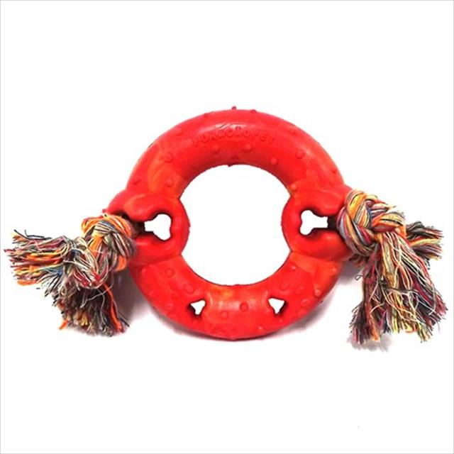 anel maciço borracha com corda - vermelho anel maciço borracha com corda vermelho - tam p