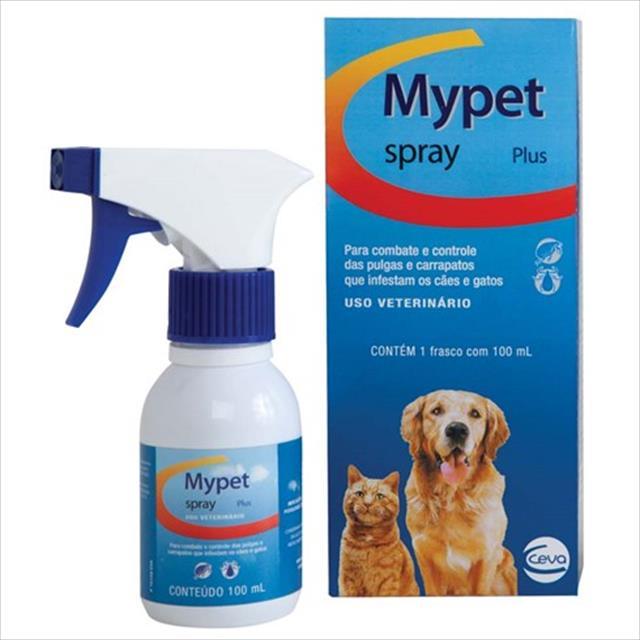 anti pulgas e carrapatos ceva my pet spray - 250 ml