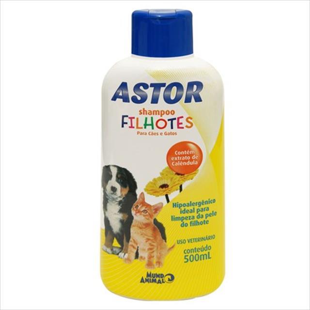 astor shampoo filhotes para cães - 500 ml