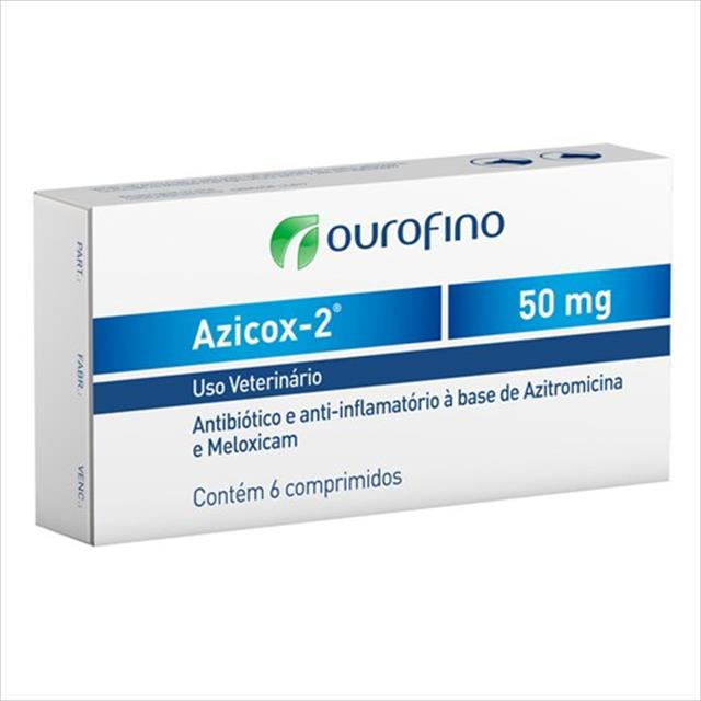 azicox 2 50mg - 6 comprimidos