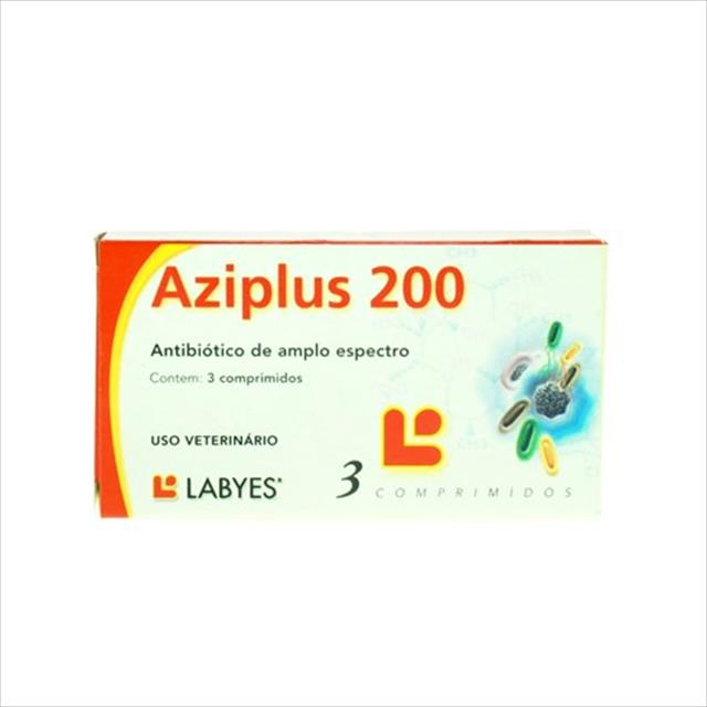 aziplus 200 - 3 comprimidos