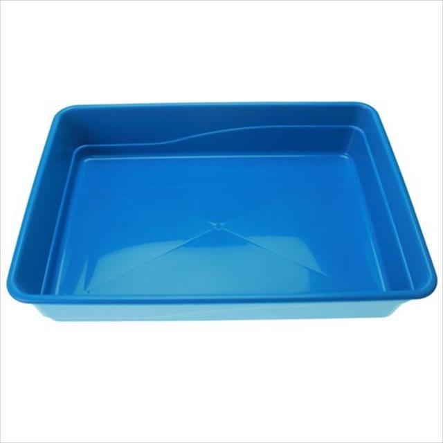 bandeja de areia baw waw para gatos - azul