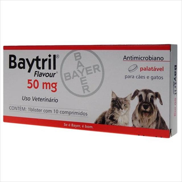 baytril flavour 50mg - 10 comprimidos
