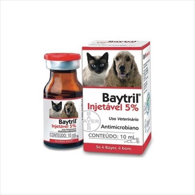 baytril injetável 5% - 10ml