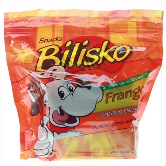 bifinho bilisko palitos finos cão frango - 500gr