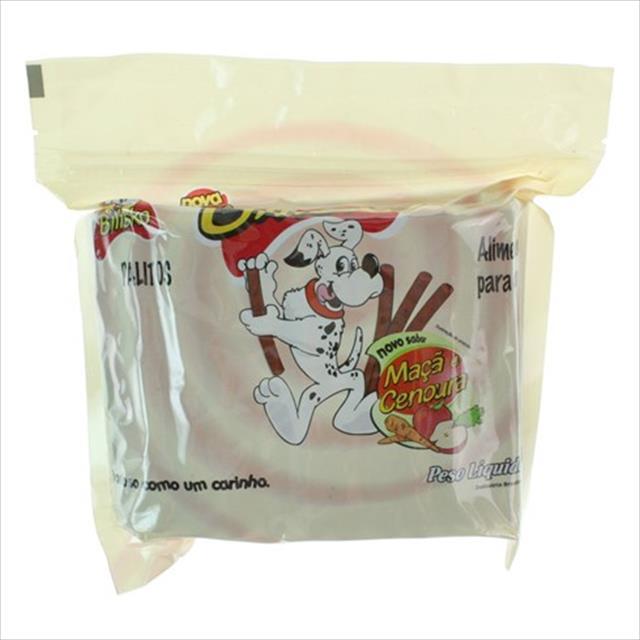 bilisko palito maçã e cenoura para cães - 500gr