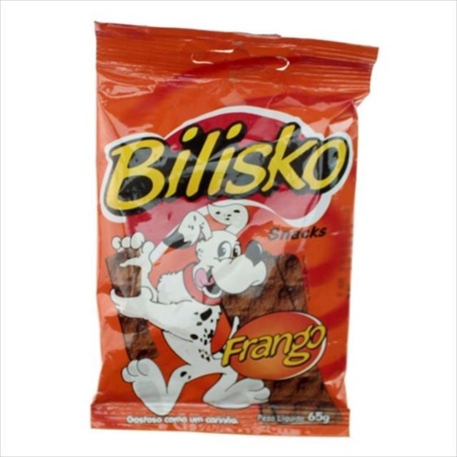 bilisko snacks cão frango - 65gr