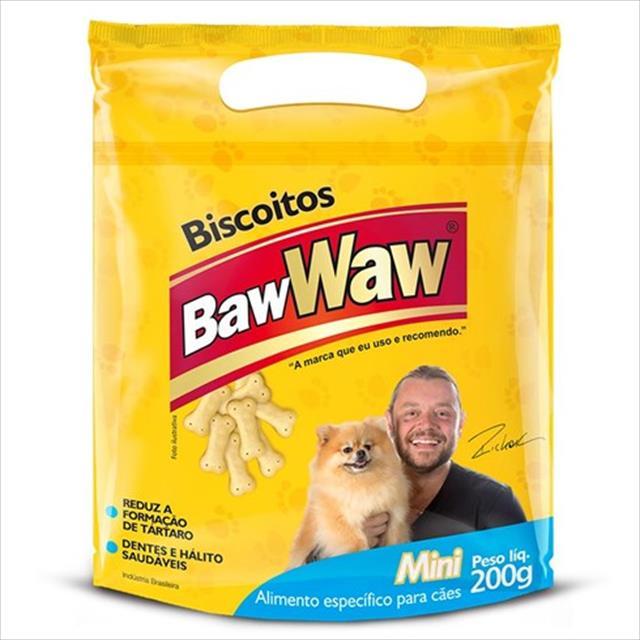 biscoitos baw waw mini para cães - 200 g