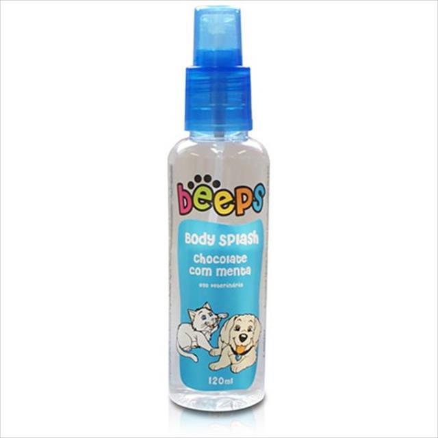 body splash beeps pet society - 120ml body splash pêssego em caldas - 120ml