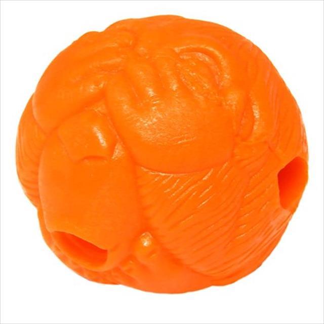 bola macaquinho pet games com dispenser de ração ou petisco - laranja bola macaquinho pet games com dispenser de ração ou petisco laranja - tam. p