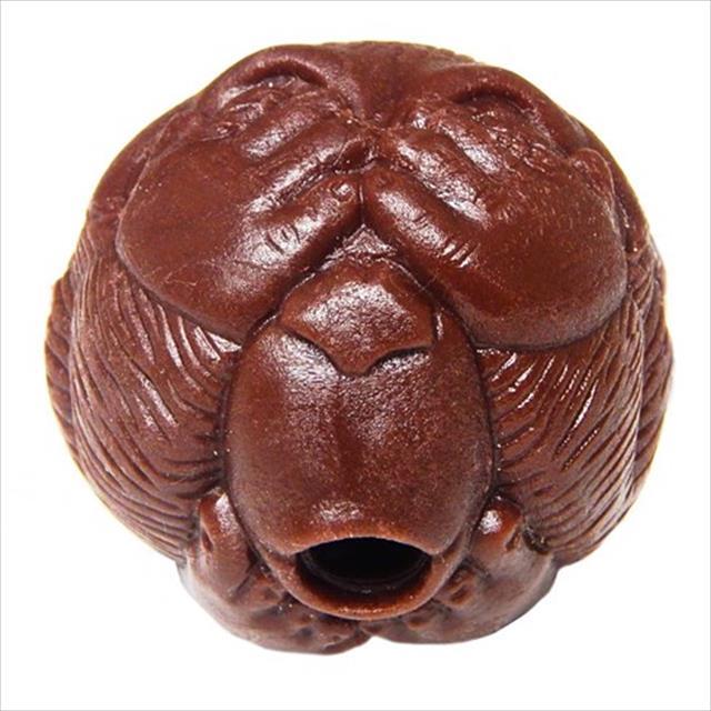 bola macaquinho pet games com dispenser de ração ou petisco - marrom bola macaquinho pet games com dispenser de ração ou petisco marrom - tam. g