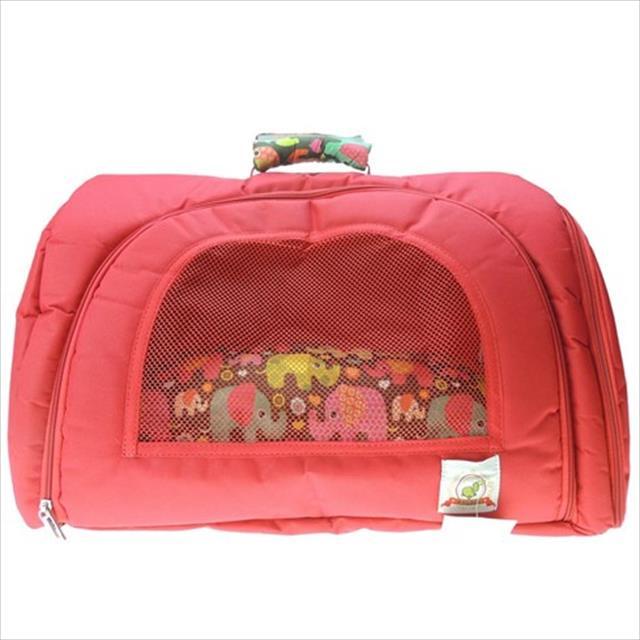 bolsa de transporte bag dog estampa elefante - tam g