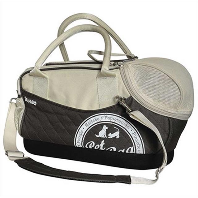 bolsa de transporte jambo function grande para cães - marrom bolsa de transporte jambo function cor marrom para cães - tam. g
