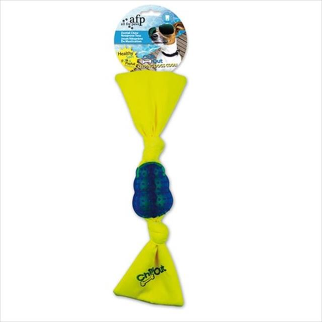 brinquedo afp chill out dental chew neonprime toss - azul
