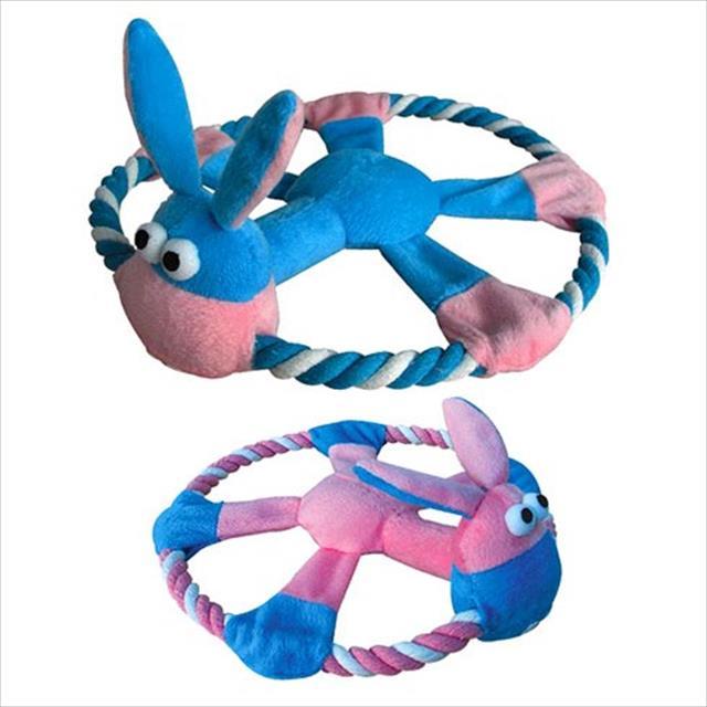 brinquedo chalesco cachorro com corda