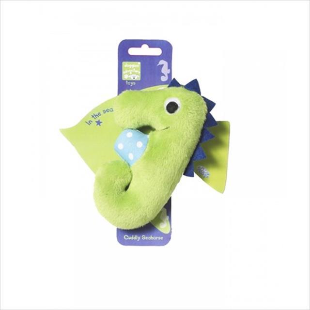 brinquedo de pelúcia cavalo maritimo aventura no mar