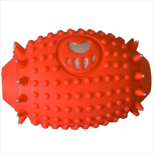 brinquedo de vinil bola futebol americano vb pets