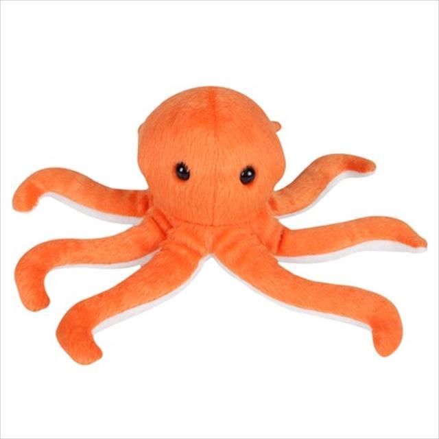 brinquedo futon dog polvo mini pelúcia - laranja
