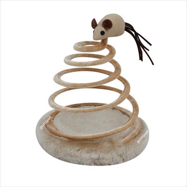 brinquedo guttipet espiral ratinho