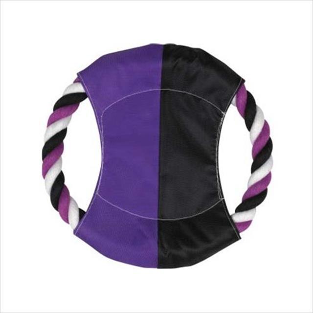 brinquedo jambo mordedor corda disco - lilás