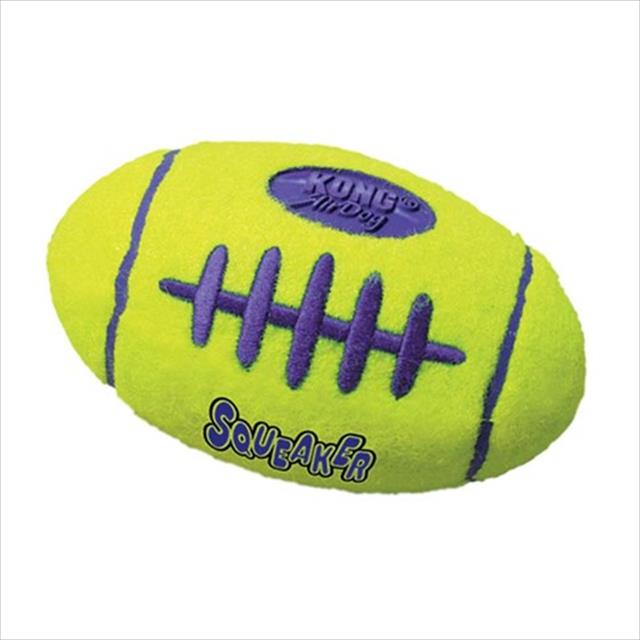 brinquedo kong squeaker football bola de futebol americano asfb2 - médio