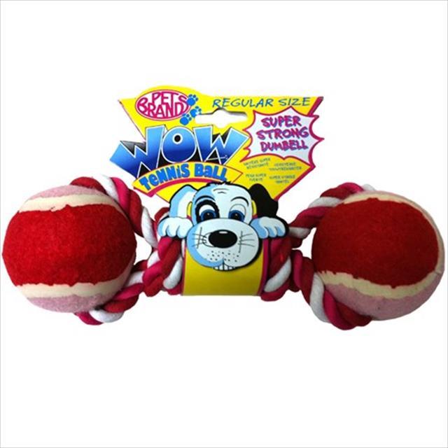 brinquedo mordedor bolas e corda wow - vermelho brinquedo mordedor bolas e corda wow vermelho - grande