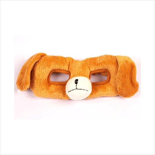 brinquedo mordedor máscara de pelúcia - cachorro