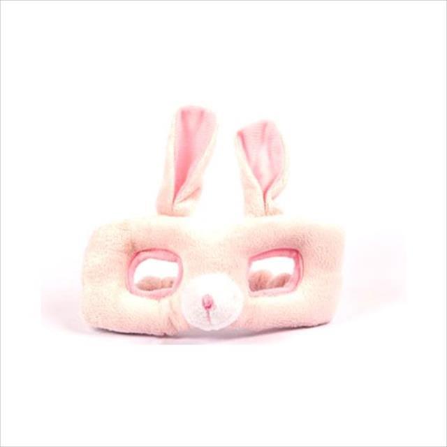 brinquedo mundo gaia mordedor m�scara de pel�cia - coelho