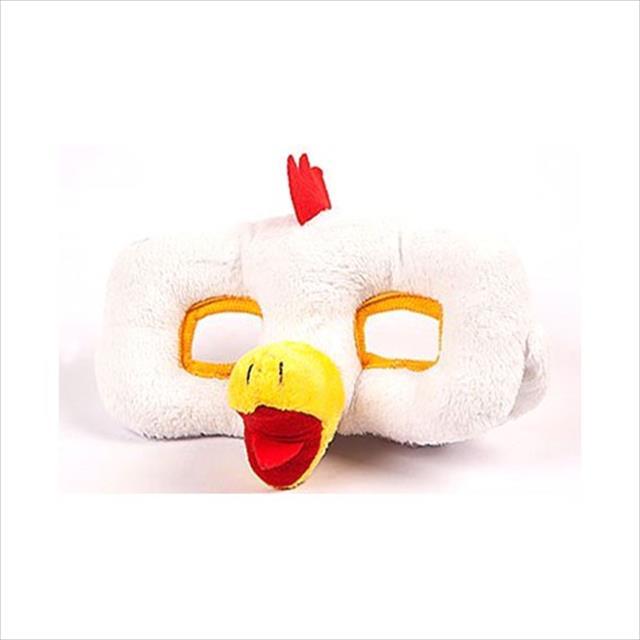 brinquedo mundo gaia mordedor máscara de pelúcia - galo