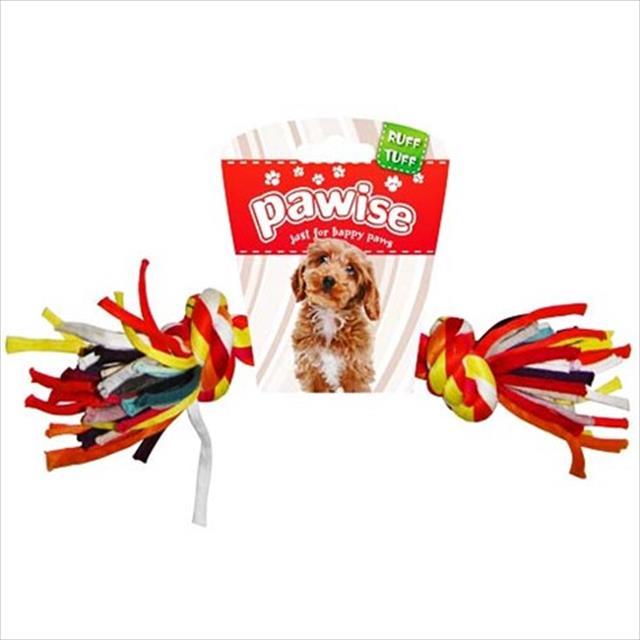 brinquedo pawise corda com nós coloridas