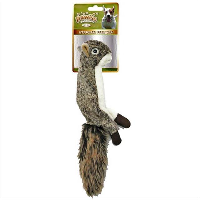 brinquedo pawise esquilo de pelúcia sem enchimento brinquedo pawise esquilo de pelúcia - grande