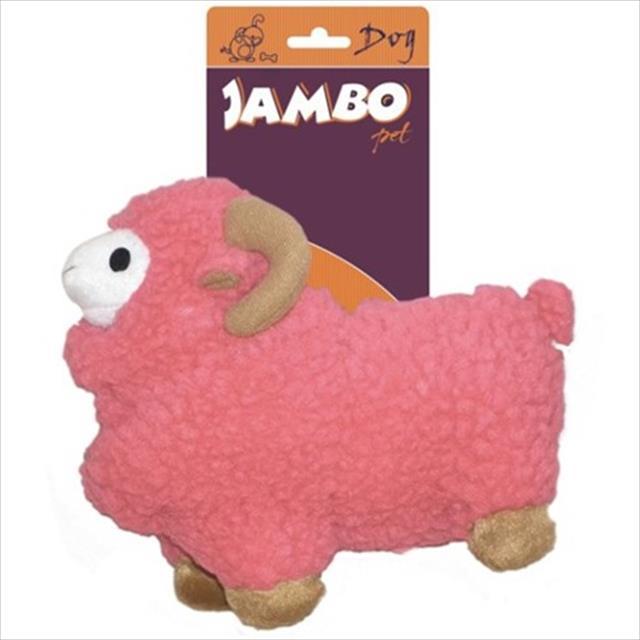 brinquedo pelúcia carneiro - rosa