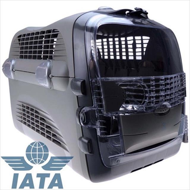 caixa de transporte cat it cabrio - cinza