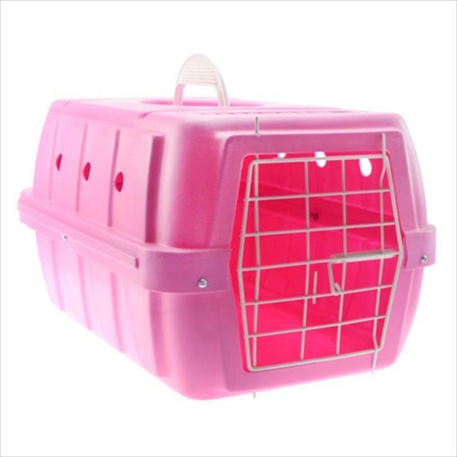 caixa de transporte clicknew - rosa caixa de transporte clicknew rosa - n. 02