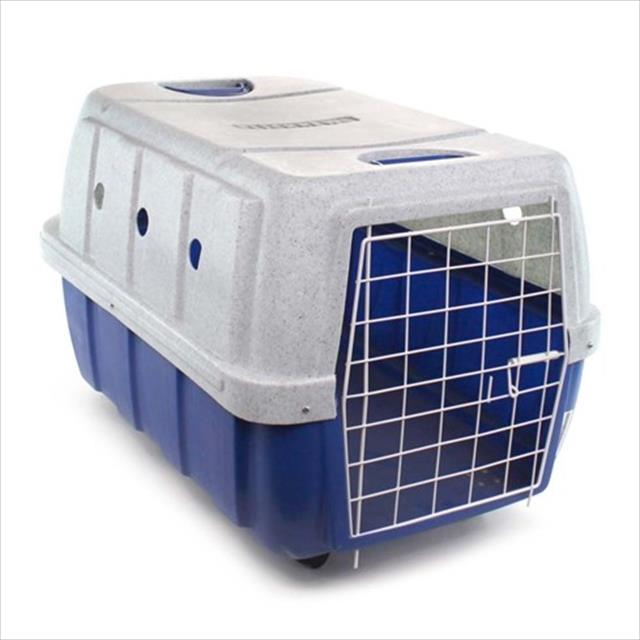 caixa de transporte clicknew com rodas - azul com mármore caixa de transporte clicknew com rodas azul com mármore - n. 03