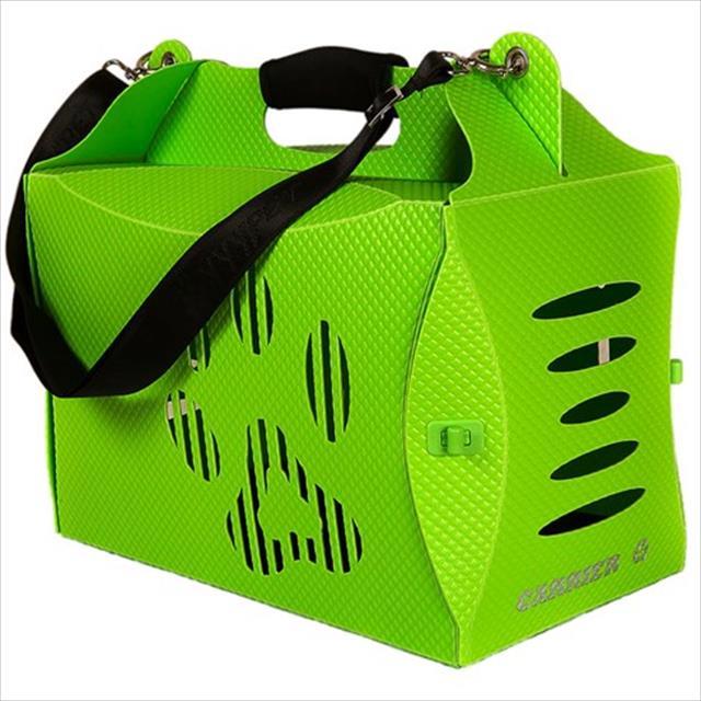 caixa de transporte mundo gaia eco house - verde