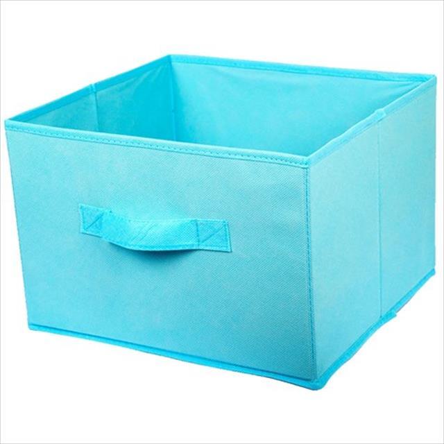 caixa para brinquedos de pet - azul