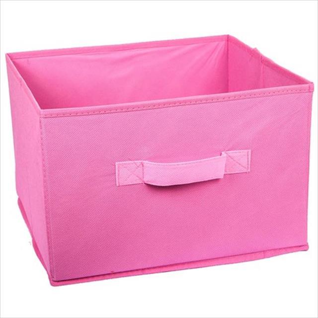 caixa para brinquedos de pet - rosa